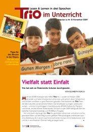 Trio 8 im Unterricht - Schule mehrsprachig