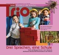 Trio 15 auf Deutsch - Schule mehrsprachig