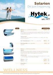 WELLNESS - Hytek