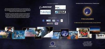 9 July 2008 - International Astronautical Federation