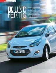 HYUNDAI ix20 1.6 TEST Unnötig kompliziert hat es sich Hyundai ...