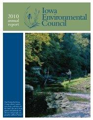 annual report - the Iowa Environmental Council