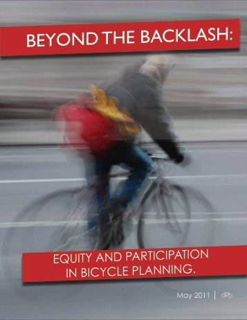 Beyond the Backlash: equity and participation in bicycle - Streetsblog