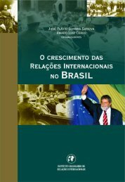 Crescimento das Relações Internacionais no Brasil, O - Funag