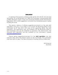 In exercise of the powers conferred under section 43 to 48, 50, 55 ...