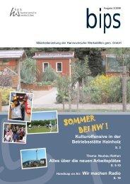 bips xpress 3 2008.qxp - Hannoversche Werkstätten