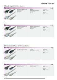 Powerline > Power Cable SEV Switzerland Plug / SEV ... - Wisat