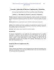 Concepto y Aplicación de Muestreo ... - Spentamexico.org
