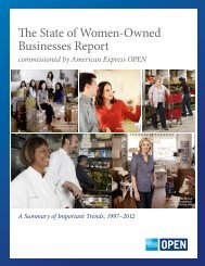 The State of Women-Owned Businesses Report