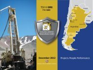 December 2012 - Golden Arrow Resources Corporation