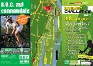 Infofolder - Bremen Challenge