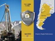 April 2012 - Golden Arrow Resources Corporation