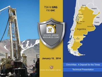 Corporate Presentation - Golden Arrow Resources Corporation