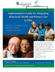 Implementation Guide for Integrating Behavioral Health and Primary