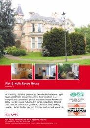 Flat 6 Holly Royde House