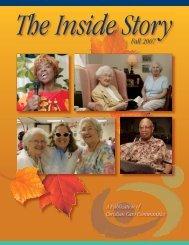 Fall 2007 - Christian Care Communities