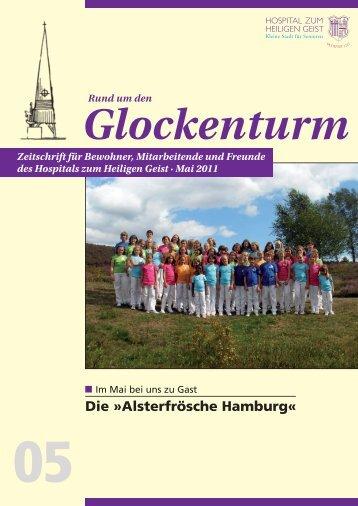 Die »Alsterfrösche Hamburg« - Hospital zum Heiligen Geist