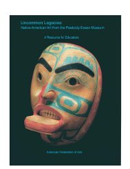 Uncommon Legacies - American Federation of Arts