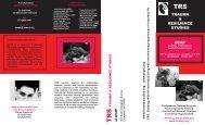 Trauma Brochure - ACAP