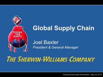 Global Supply Chain