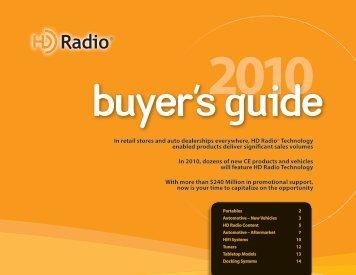 Buyer's Guide - HD Radio Alliance