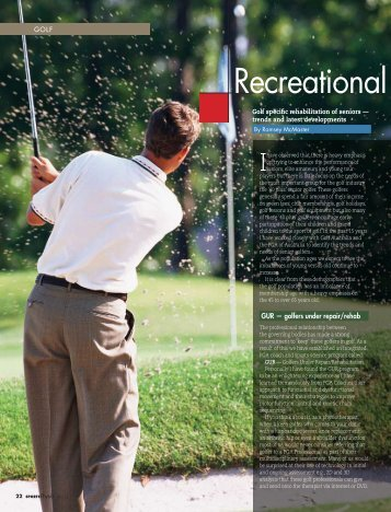 Recreational golfers - Ramsay McMaster