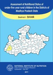 Assessment of Nutritional Status of under-five year rural children in ...