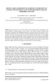 MONTE CARLO ASSESSMENT OF SAMPLING UNCERTAINTY OF ...