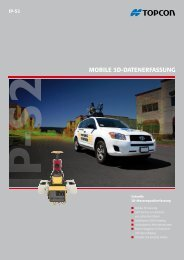 MOBILE 3D-DATENERFASSUNG - Topcon Positioning