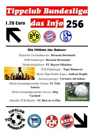Die Hitliste der Saison - TC Bundesliga