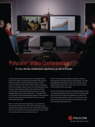 Polycom Video Conferencing - 3TECH Engineering Limited