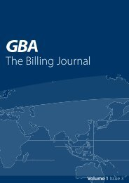 The Billing Journal - Amdocs