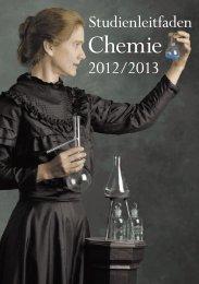 Studienleitfaden Chemie SS2013 - Downloads und Broschüren