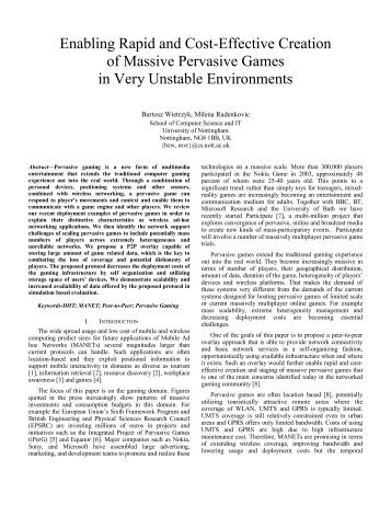 ad hoc networking research papers Volume 2, issue 4, april 2012 issn: 2277 128x international journal of advanced research in computer science and software engineering research paper available online at: wwwijarcssecom a study of wireless ad-hoc network attack and routing protocol attack mahendra kumar ajay bhushan amit kumar.