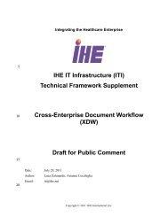 XDW - IHE