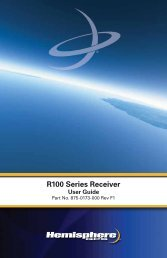 Product Name R100 Series Receiver - OmniSTAR