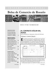 trigo - Bolsa de Comercio de Rosario