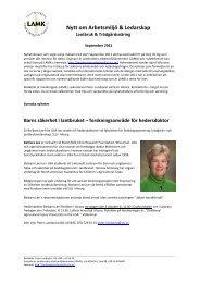 Nytt om Arbetsmiljö September, 2011.pdf - Lantbrukets ...