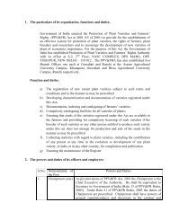RTI Manual/Disclosure [Under Sec. 4 of RTI Act 2005] - Protection of ...