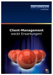 Client-Management weckt Erwartungen! - Membrain GmbH