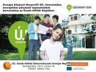 Dibáczi Zita - Energia Központ Nonprofit Kft. bemutatása ... - enerea