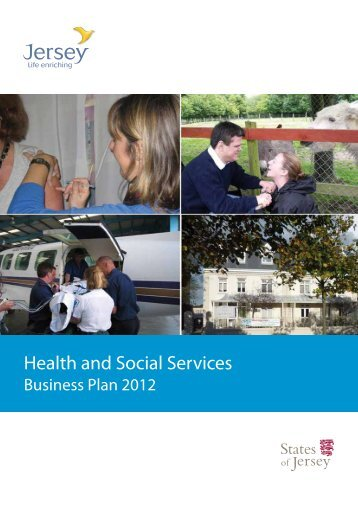 Health and Social Services 2012 business plan (3 ... - States of Jersey