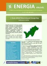 Energia Hírlevél 2010 - április - enerea