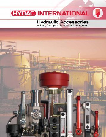Download Complete Valves, Clamps, & Accessories ... - HYDAC USA