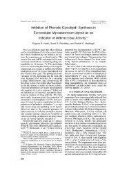 Inhibition of Phenolic Glycolipid-I Synthesis in Extracellular ...