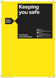 Keeping you safe booklet - Tower Hamlets Homes