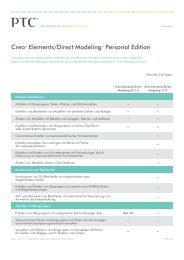Creo™ Elements/Direct Modeling™ Personal Edition - PTC.com