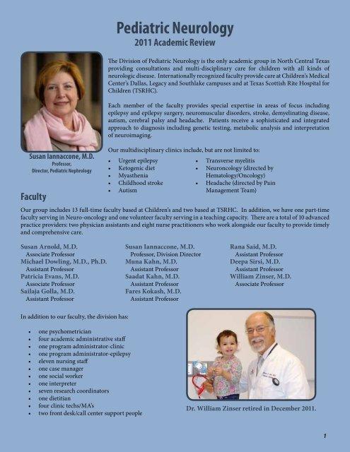 Pediatric Neurology - UT Southwestern