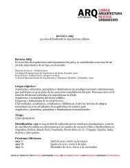 Texto ARQ web - Publicidad - Ediciones ARQ