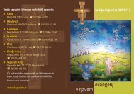 evangelij v rjavem - Kapucini